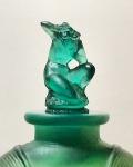 Flacon «Amphitrite » vert
