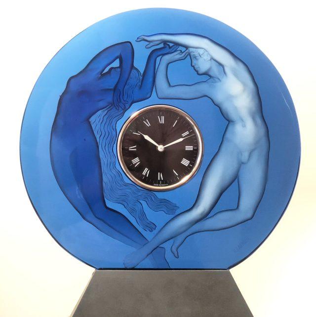 Pendule « Le Jour et la Nuit bleue »