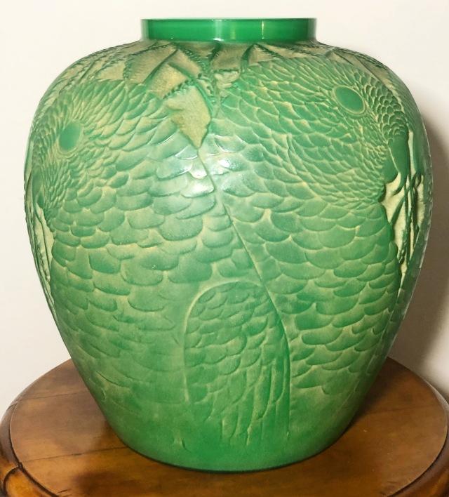Vase «Alicante» jade