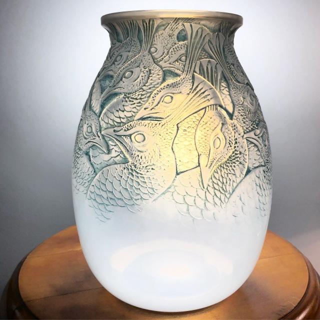 Vase «Borromée» opalescent