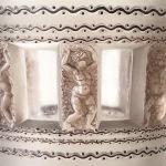 Vase «Florence» émaillé