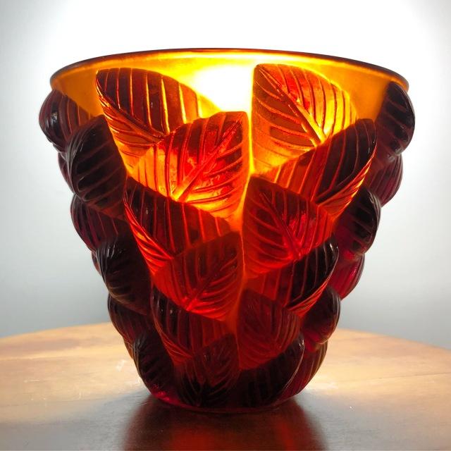 Vase «Moissac» ambre