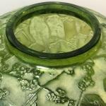 Vase «Perruches» absinthe